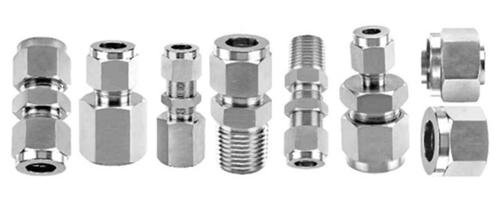 Double Compresion Tube Fitting